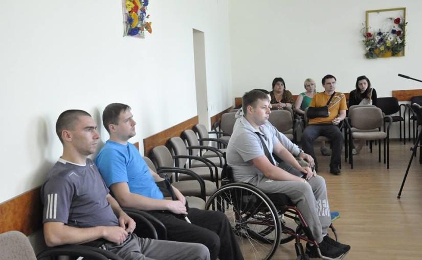 «Яворинки» відвідали воїнів у Львівському реабілітаційному центрі на Хуторівці