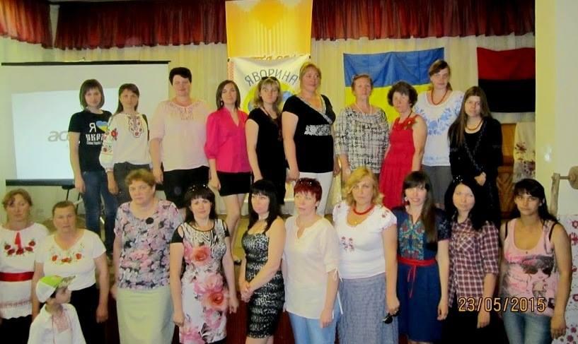 """У Златополі відбулися установчі збори обласного осередку об'єднання українок """"Яворина"""""""