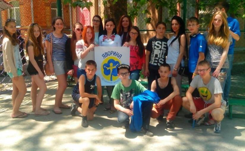 В Одесі членкині «Яворини» привітали малят з Днем захисту дітей