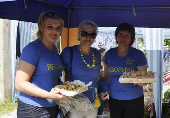 «Яворина» провела благодійну акцію в рамках урочистостей під Берестечком