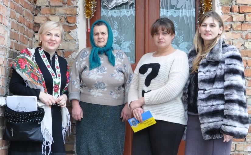 Ірина Сех відвідала родину зниклого на війні Володимира Колтуна
