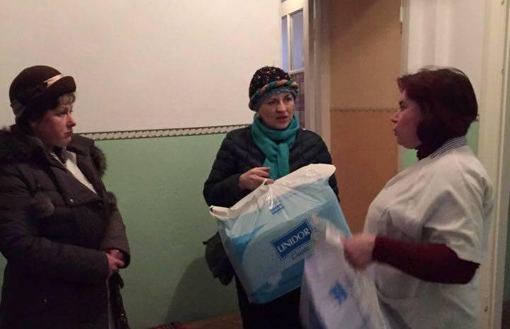 Ірина Сех відвідала геріатричне відділення в Підкамінській лікарні