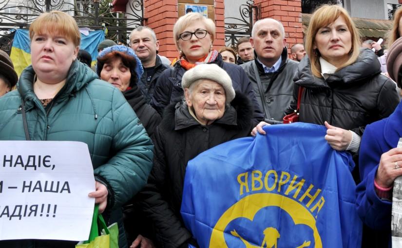 «Яворина» взяла участь в акції на підтримку Надії Савченко у Львові