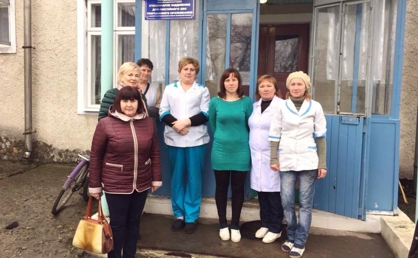 Яворинки відвідали будинок для людей похилого віку в Заболотцях