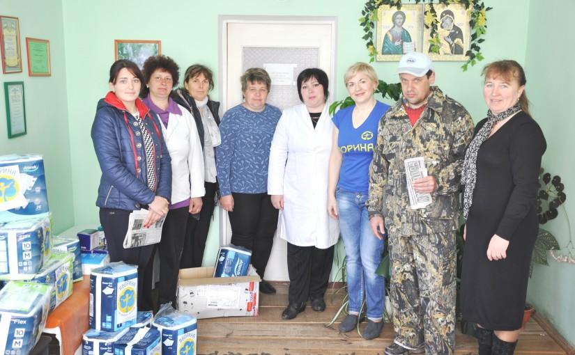 У рамках проекту «Соціальна підтримка» родини інвалідів у Суховолі та Гаях Дітковецьких отримали допомогу від «Яворини»