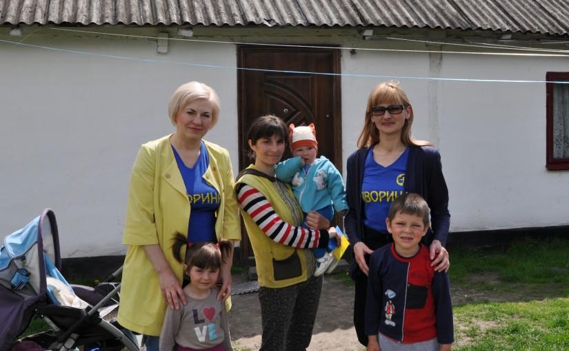 Ірина Сех відвідала родину учасника війни Івана Шкробута