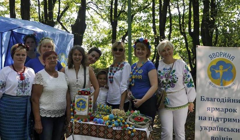 В Олеську яворинки провели благодійний ярмарок на підтримку дітей учасників війни