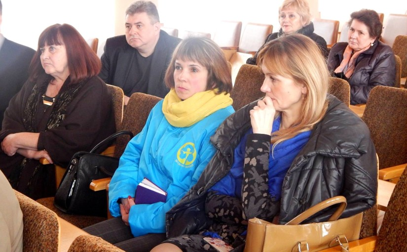У Буську активістки «Яворини» взяли участь в обговоренні реформи, яка передбачає створення госпітальних округів