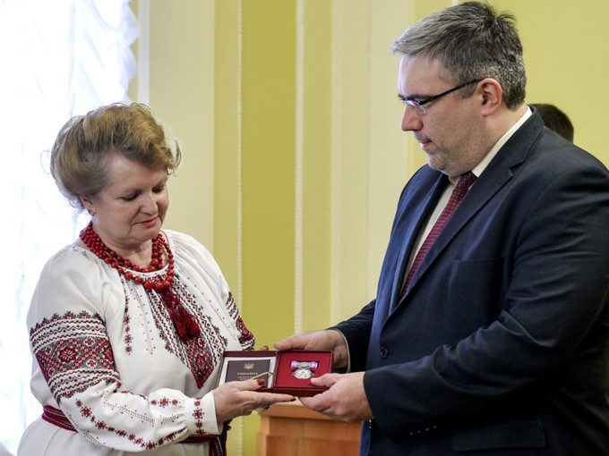 Тетяну Бондарчук нагороджено орденом княгині Ольги