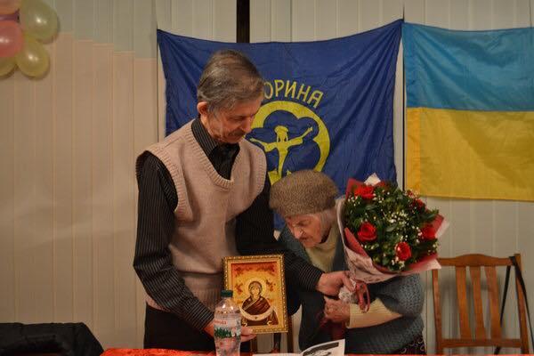 Зв'язкова УПА Ольга Ільків вперше завітала до Рівного (відео)