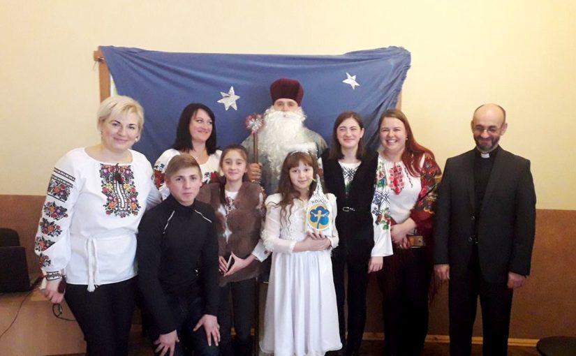Яворинки привітали вихованців сиротинця в Новому Милятині зі святом Миколая